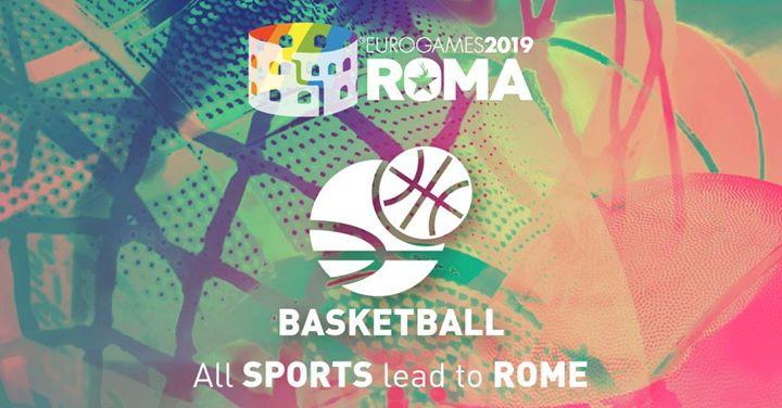 Roma Eurogames 2019 - Basketball Tournament à Rome le jeu. 11 juillet 2019 de 09h00 à 16h00 (Sport Gay, Lesbienne, Trans, Bi)