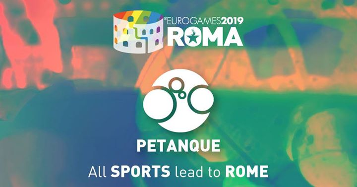 Roma Eurogames 2019 - Petanque Tournament in Rome le Sat, July 13, 2019 from 09:00 am to 04:00 pm (Sport Gay, Lesbian, Trans, Bi)