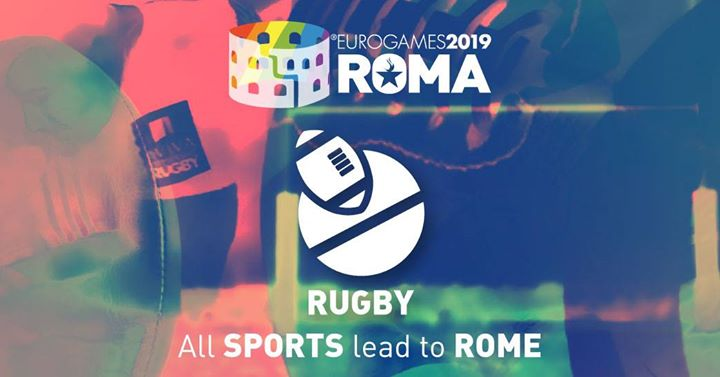 Roma Eurogames 2019 - Rugby Tournament in Rome le Sat, July 13, 2019 from 09:00 am to 04:00 pm (Sport Gay, Lesbian, Trans, Bi)