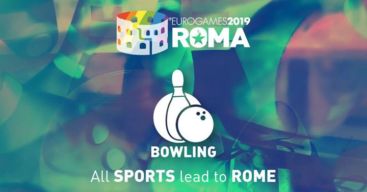 Roma Eurogames 2019 - Bowling Tournament in Rome le Thu, July 11, 2019 from 09:00 am to 04:00 pm (Sport Gay, Lesbian, Trans, Bi)