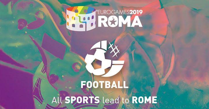 Roma Eurogames 2019 - Football A11 Tournament à Rome le jeu. 11 juillet 2019 de 09h00 à 16h00 (Sport Gay, Lesbienne, Trans, Bi)