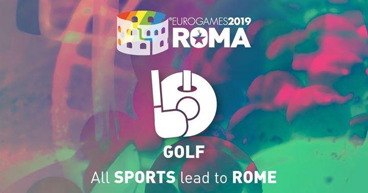 Roma Eurogames 2019 - Golf Tournament à Rome le jeu. 11 juillet 2019 de 09h00 à 16h00 (Sport Gay, Lesbienne, Trans, Bi)