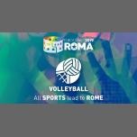 Roma Eurogames 2019 - Volleyball Tournament à Rome le ven. 12 juillet 2019 de 09h00 à 21h00 (Sport Gay, Lesbienne, Trans, Bi)
