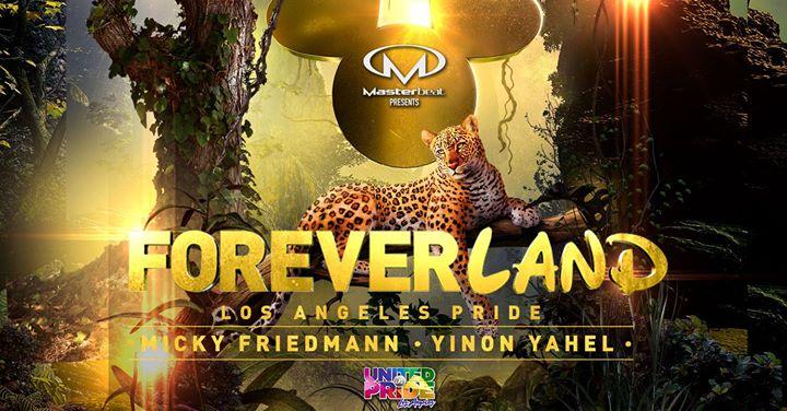 Foreverland: Los Angeles Pride Closing Party à Los Angeles le dim.  9 juin 2019 de 20h00 à 04h00 (Clubbing Gay)