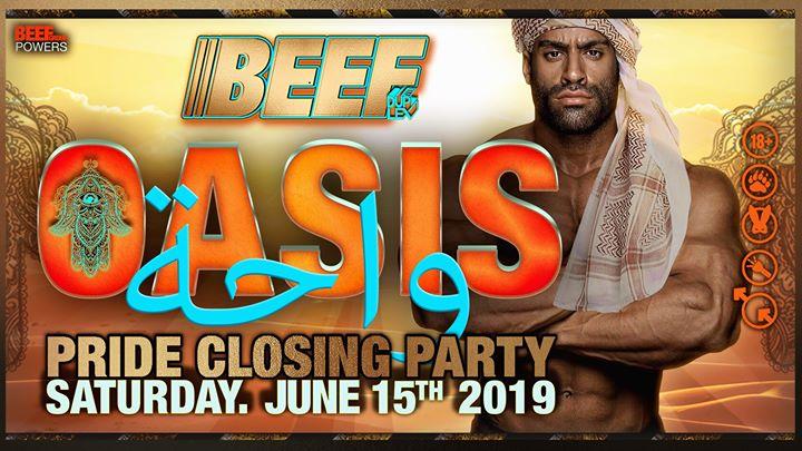 Beef Oasis in Tel Aviv le Sa 15. Juni, 2019 23.59 bis 08.00 (Clubbing Gay)
