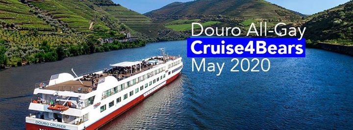 All-Gay Douro Cruise4Bears & Post cruise Lisbon Bear Pride a Barcellona dal 21-28 maggio 2020 (Crociera Gay, Orso)