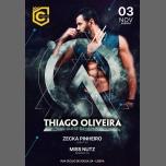 Thiago Oliveira à Lisbonne le sam.  3 novembre 2018 de 23h55 à 06h00 (Clubbing Gay, Bear)