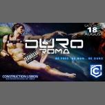 Duro Roma w/ Ricardo Ruhga à Lisbonne le sam. 18 août 2018 de 23h55 à 06h00 (Clubbing Gay, Bear)