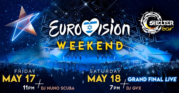 Eurovision Weekend - Grand Final Live! à Lisbonne le ven. 17 mai 2019 de 23h00 à 03h00 (After-Work Gay, Bear)