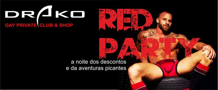 Red Party in Lissabon le Sa 15. Juni, 2019 21.00 bis 03.00 (Sexe Gay)