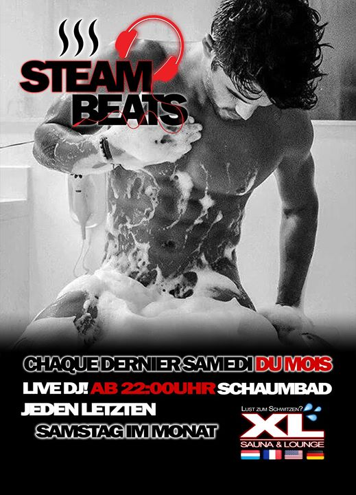 STEAM BEATS a Saarbrücken le sab 28 settembre 2019 22:00-06:00 (Sesso Gay)