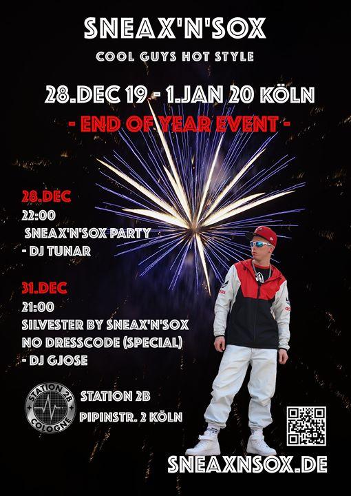 SNEAX'n'SOX Party The Final 2019 Köln (27.12.19-1.1.20) in Koln le Sat, December 28, 2019 at 10:00 pm (Sex Gay)