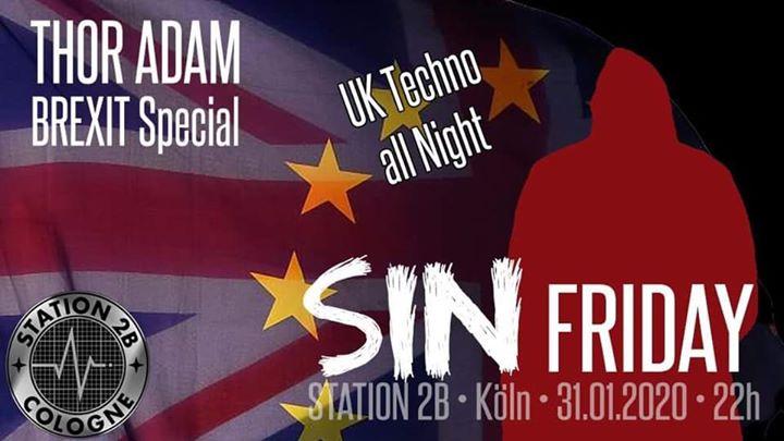 科隆SinFriday - U L T I M O  mit DJ THOR ADAM2020年10月31日,22:00(男同性恋 性别)