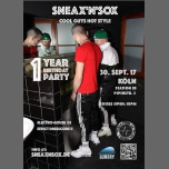 1 Year SNEAX'n'SOX Party Köln à Cologne le sam. 30 septembre 2017 à 22h00 (Sexe Gay)