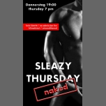 Sleazy Thursday: naked à Cologne le jeu. 21 septembre 2017 de 19h00 à 23h59 (Sexe Gay)