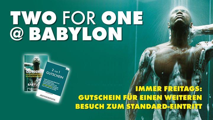 Two For One à Cologne le ven.  8 novembre 2019 de 10h00 à 22h00 (Sexe Gay)