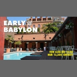 Early (at) Babylon in Koln le Sat, November  3, 2018 from 06:00 am to 01:00 pm (Sex Gay)