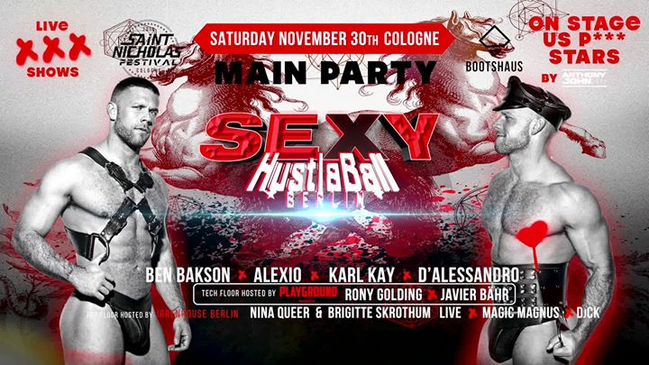 SEXY HustlaBall - St. Nicholas Festival Main Party in Koln le Sat, November 30, 2019 from 11:00 pm to 07:00 am (Clubbing Gay)
