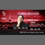 Chris Bekker Night à Paris le sam. 23 juin 2018 de 23h55 à 12h00 (Clubbing Gay, Lesbienne, Trans, Bi)