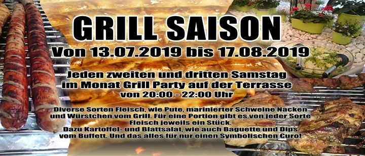 Grill Saison in Francfort-sur-le-Main le Sat, August 10, 2019 from 08:00 pm to 10:00 pm (Sex Gay)