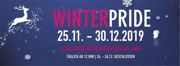Winter Pride 2019 in Hambourg le Mo  9. Dezember, 2019 12.00 bis 22.00 (Festival Gay, Lesbierin, Transsexuell, Bi)