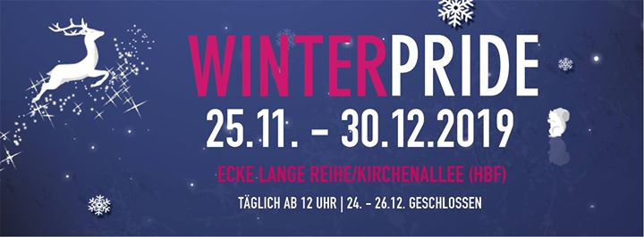Winter Pride 2019 in Hambourg le Fri, December 20, 2019 from 12:00 pm to 10:00 pm (Festival Gay, Lesbian, Trans, Bi)