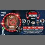 10 YEARS - The REAL HustlaBall Berlin Awards • 2018 à Berlin le ven. 19 octobre 2018 de 20h00 à 22h00 (Clubbing Gay)