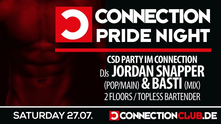★ CSD Party ★ 27.07.19 ★ in Berlin le Sa 27. Juli, 2019 23.00 bis 07.00 (Clubbing Gay)
