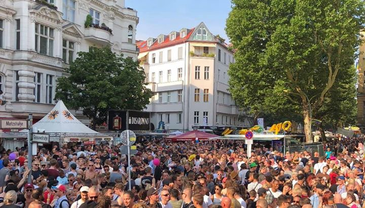 Connection Stage und BAR Straßenfest 20 & 21.07.2019 in Berlin le Sa 20. Juli, 2019 11.00 bis 22.00 (Clubbing Gay)