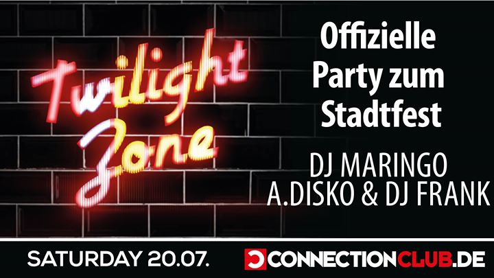 20.07.2019 / Stadtfest Special - Twilight ZONE in Berlin le Sa 20. Juli, 2019 23.00 bis 07.00 (Clubbing Gay)