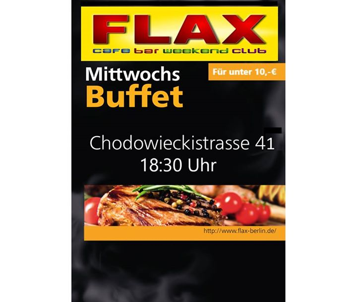 MittwochsBuffet a Berlino le mer 16 ottobre 2019 18:30-23:45 (Clubbing Gay)