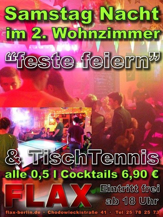柏林Feste Feiern2020年 6月 4日,18:00(男同性恋 俱乐部/夜总会)