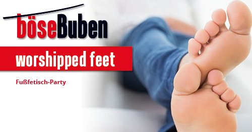 Worshipped Feet in Berlin le Fri, October 18, 2019 from 08:00 pm to 02:00 am (Sex Gay)
