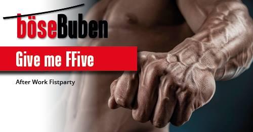 Give me FFive! à Berlin le jeu. 25 avril 2019 de 19h00 à 01h00 (Sexe Gay)