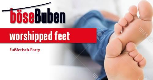 Worshipped Feet à Berlin le ven. 17 mai 2019 de 20h00 à 02h00 (Sexe Gay)