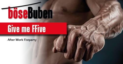 Give me FFive! in Berlin le Do  2. Mai, 2019 17.00 bis 23.30 (Sexe Gay)
