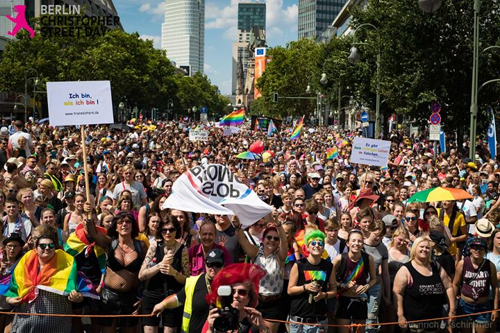 CSD Berlin - Stonewall 50 - every riot starts with your voice! in Berlin le Sat, July 27, 2019 from 12:00 pm to 11:59 pm (Parades Gay, Lesbian, Trans, Bi)