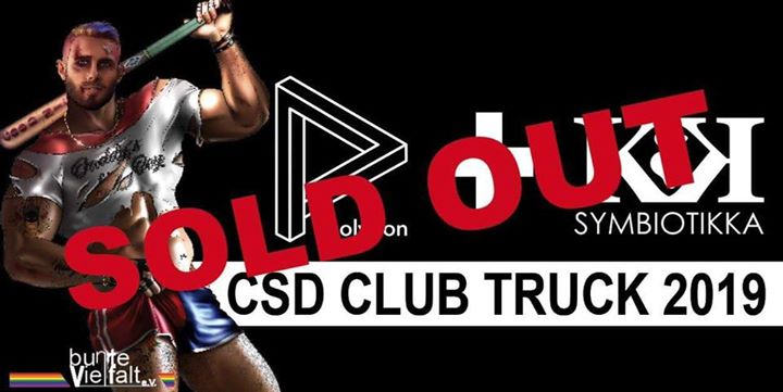 Polygon + Symbiotikka CSD Club Truck (pres. by MARCELdb) in Berlin le Sa 27. Juli, 2019 11.30 bis 18.00 (Clubbing Gay)