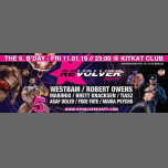 Revolver Party- 5. Anniversary BASH w/ Westbam in Berlin le Fri, January 11, 2019 from 11:00 pm to 10:00 am (Clubbing Gay)