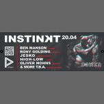 Instinʞt by Revolver- Easter Saturday w/ Ben Manson/Rony/Jesko à Berlin le sam. 20 avril 2019 de 23h00 à 10h00 (Clubbing Gay)