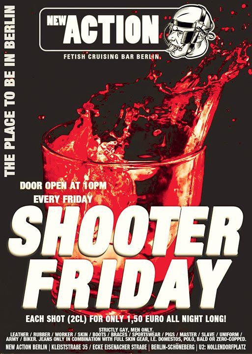 Shooter Friday en Berlín le vie 18 de octubre de 2019 22:00-06:00 (Sexo Gay)