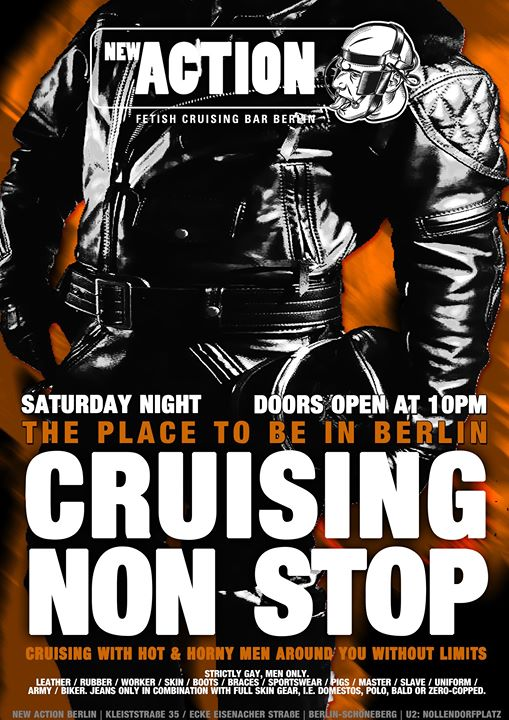 Cruising Non Stop in Berlin le Sat, September 21, 2019 from 10:00 pm to 07:00 am (Sex Gay)