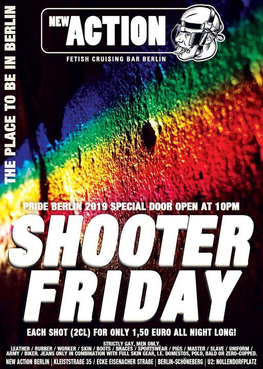 Shooter Friday - Pride Berlin Special a Berlino le ven 26 luglio 2019 22:00-06:00 (Sesso Gay)