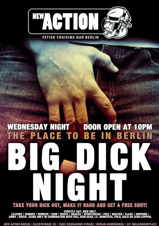 Big Dick Night a Berlino le mer 24 luglio 2019 22:00-04:00 (Sesso Gay)