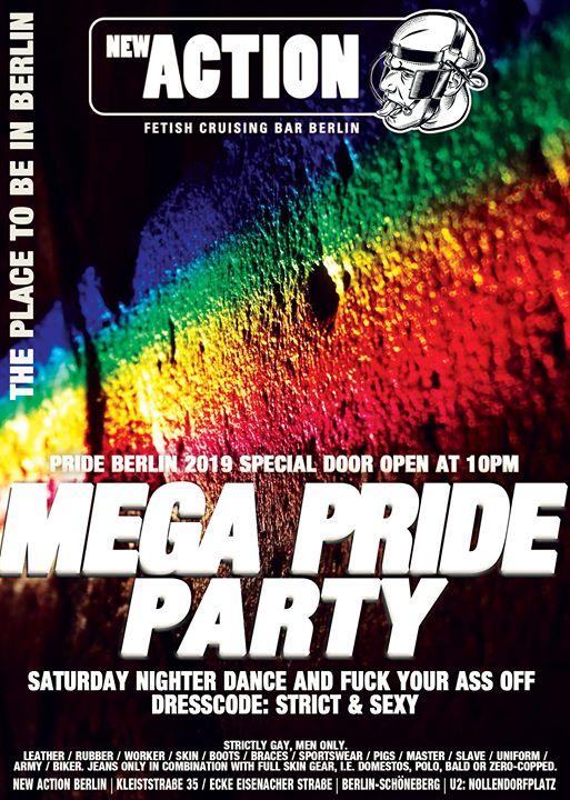 MEGA Pride Party - Pride Berlin Special en Berlín le sáb 27 de julio de 2019 22:00-07:00 (Sexo Gay)