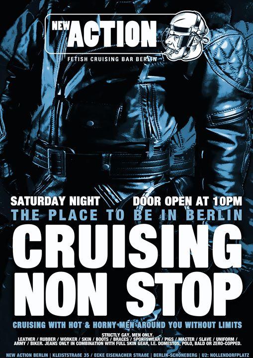 Cruising Non Stop a Berlino le sab  3 agosto 2019 22:00-07:00 (Sesso Gay)