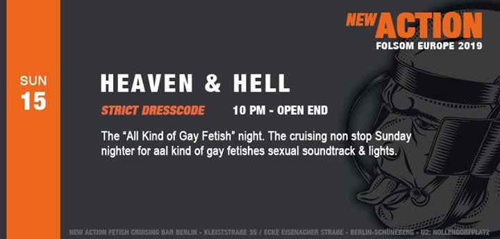 柏林Heaven & Hell (Folsom Berlin)2019年10月15日,22:00(男同性恋 性别)