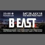 B:east PARTY PRIDE / CSD XXL /w . Pagano&Westbam em Berlim le sáb, 28 julho 2018 22:00-10:00 (Clubbing Gay, Bear)