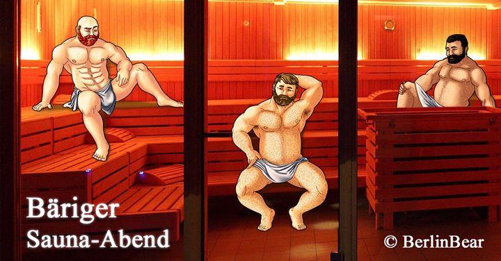 Bäriger Sauna-Abend im Boiler à Berlin le jeu. 31 octobre 2019 de 17h00 à 23h00 (Sexe Gay, Bear)