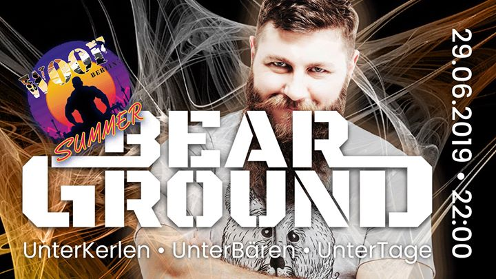 BearGround - Woof Summer Edition à Berlin le sam. 29 juin 2019 de 22h00 à 04h00 (Clubbing Gay, Bear)